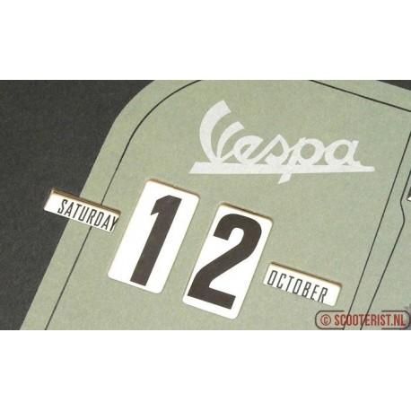 Vespa kalender vpcl22 green front