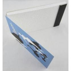"Vespa opschrijfboekje ""Donna Blu"""