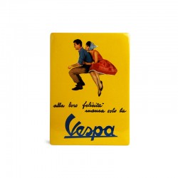 Decoratie bord/plaat Vespa