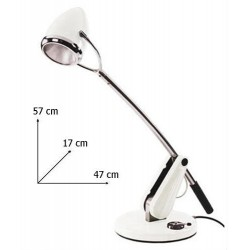 Retro bureaulamp /  tafel lamp van Vespa 47cm*17cm*57cm