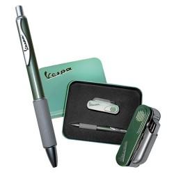 Vespa pen en multifunctionele aansteker met zakmes