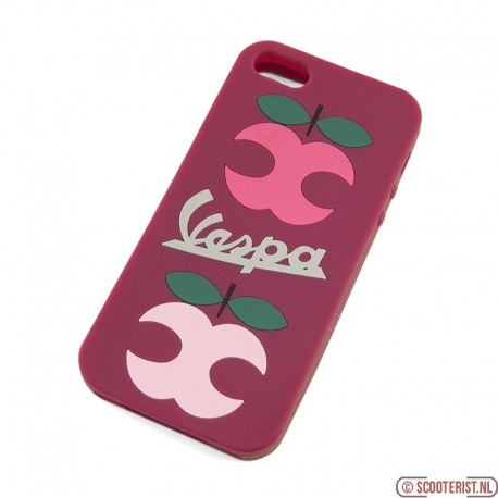 Vespa iPhone SE / 5 cover Apple paars VPCO06