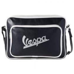 "Vespa schoudertas ""Logo orizzontale"" donkerblauw - VPSB57"
