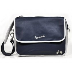 Vespa messenger bag blauw - VPSC24